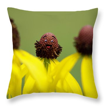 Throw Pillow featuring the photograph You And Me by Joel Witmeyer