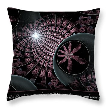 You And Your Household Throw Pillow