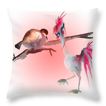 You Are Just My Type Throw Pillow by Miki De Goodaboom