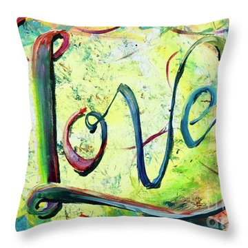 You. Are. Loved. Throw Pillow