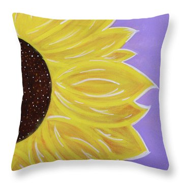 You Are My Sunshine Throw Pillow by Cyrionna The Cyerial Artist