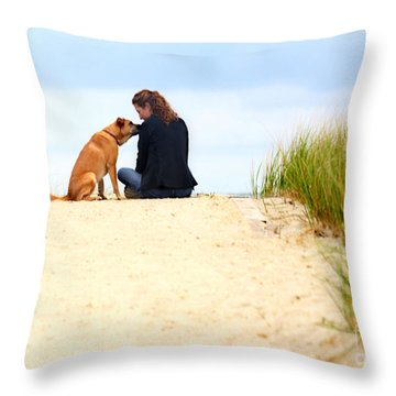 Throw Pillow featuring the photograph You Are My Sunshine by Dana DiPasquale