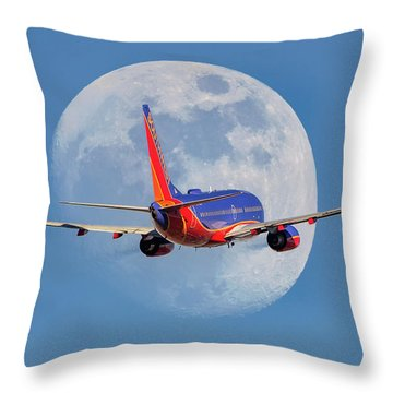 You Are Now Free To Move About The Universe Throw Pillow