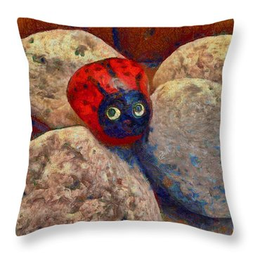 You Are Special  Throw Pillow by Claire Bull