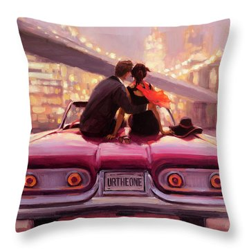 You Are The One Throw Pillow