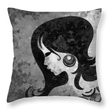 You Are The Only One 2 Throw Pillow by Angelina Vick