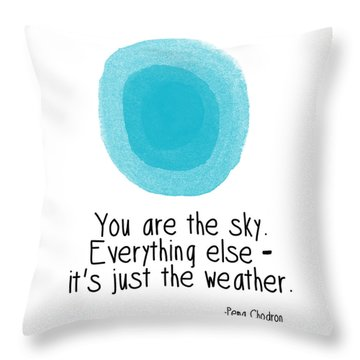 You Are The Sky Throw Pillow