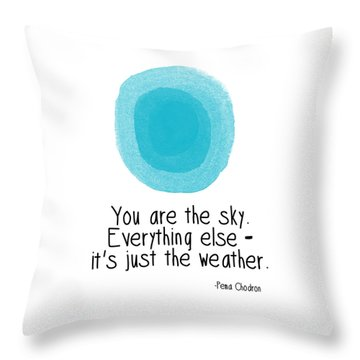 Inspirational Quote Throw Pillows