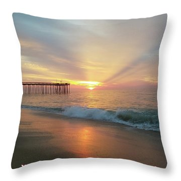 You Are The Sunrise Throw Pillow