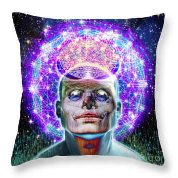 You Are Your Own God Take Responsablility Throw Pillow