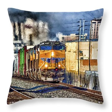 You Can Go Your Own Way Throw Pillow