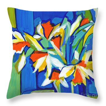 You Can Never Hold Back Spring Throw Pillow