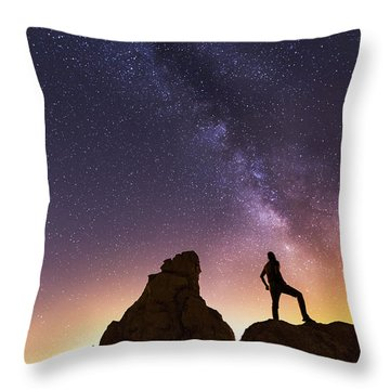 You Cant Take The Sky From Me Throw Pillow