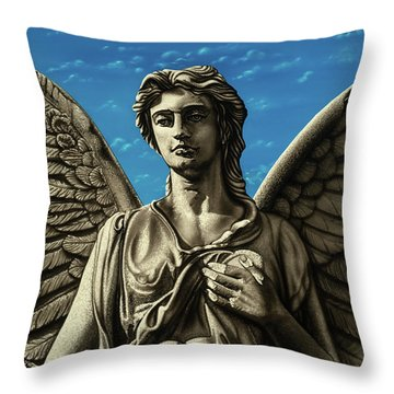 You Choose Throw Pillow by Dan Menta