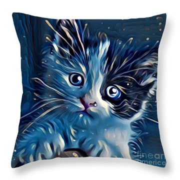 You Cuddle Wit Me  Throw Pillow