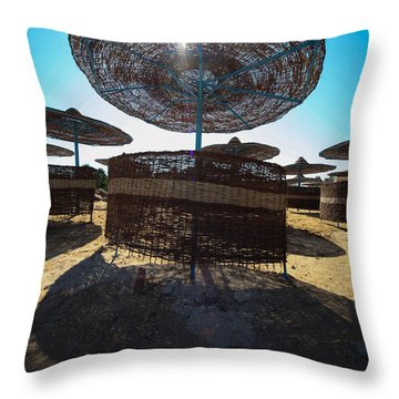 Throw Pillow featuring the photograph You Find Me by Jez C Self