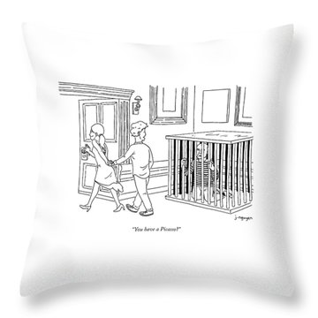 You Have A Picasso Throw Pillow