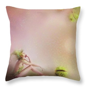You Have To Be Fairy Patient Throw Pillow