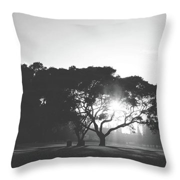 Throw Pillow featuring the photograph You Inspire by Laurie Search