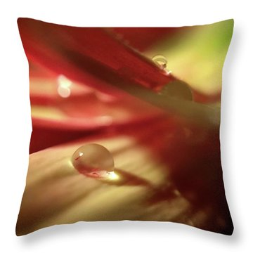 You Just Put One Under Your Tongue Throw Pillow