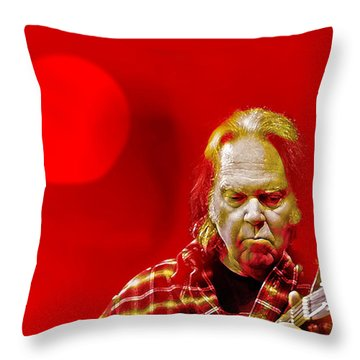 You Keep Me Searching Throw Pillow by Mal Bray