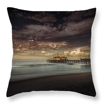 Enchanted Pier Throw Pillow