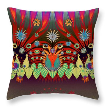 You Promised Me A Flower Garden Throw Pillow