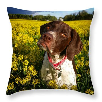 You Say I Am Three Throw Pillow