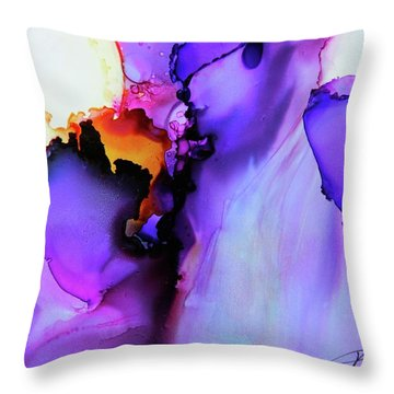 You Set My Soul On Fire Throw Pillow