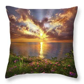 You Sing To My Spirit Throw Pillow
