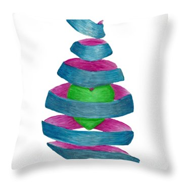 You Unravel My Heart Throw Pillow