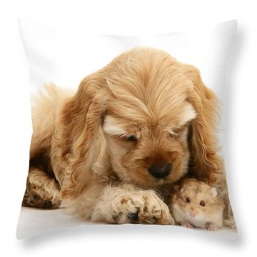 You'll Be Fine, Little Guy Throw Pillow