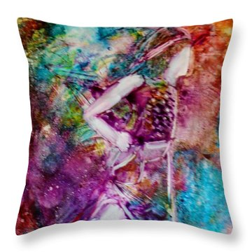 Young David Throw Pillow