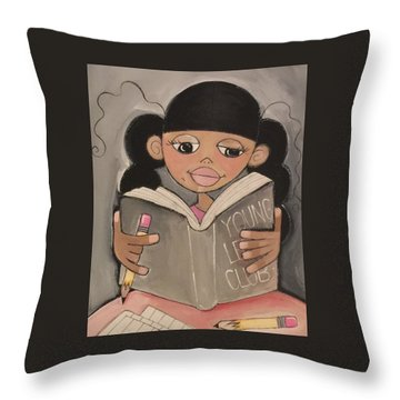 Young Leaders Club Throw Pillow