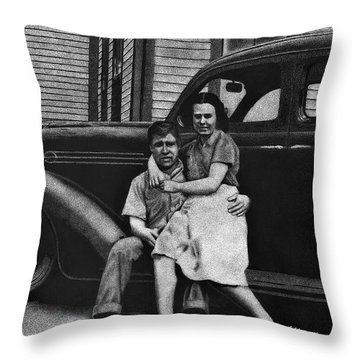 Young Love Throw Pillow by Sheryl Unwin