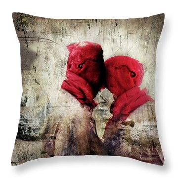Young Lust Throw Pillow