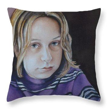 Young Mo Throw Pillow