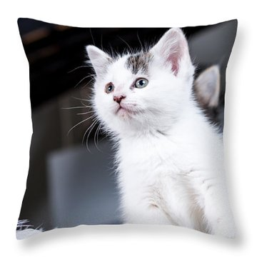 Young Warrior Throw Pillow