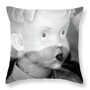 Young Willy Throw Pillow