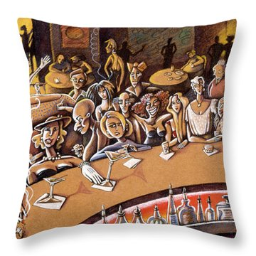 Your Bar Throw Pillow