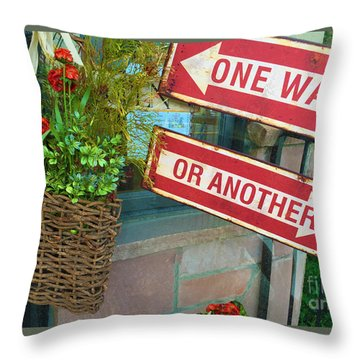Your Choice Throw Pillow