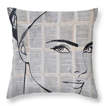 Your Eyes Throw Pillow