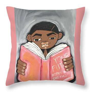 Your Future Boy Throw Pillow
