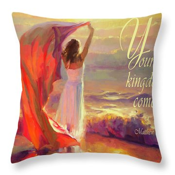 Your Kingdom Come Throw Pillow
