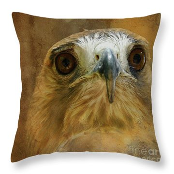 Your Majesty Throw Pillow by Lois Bryan
