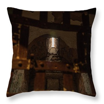 Eastern State Penitentiary Throw Pillows