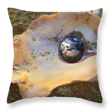 Your Oyster Throw Pillow