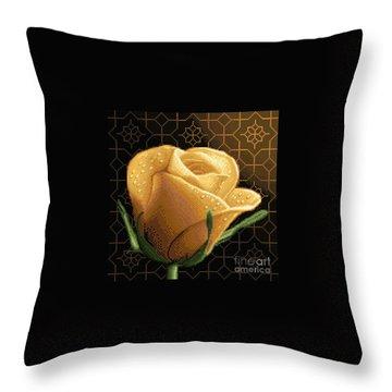 Your Rose Throw Pillow by Stoyanka Ivanova