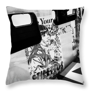 Throw Pillow featuring the photograph Your Stilletos by Chris Dutton