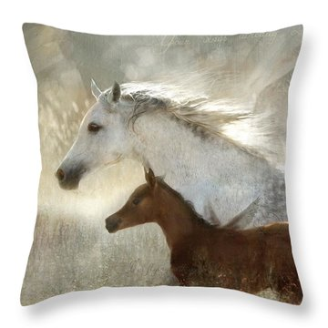 Your Wings Exist  Throw Pillow